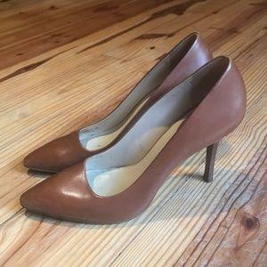 Cole Haan Brown leather Pumps Heels Sz 9B